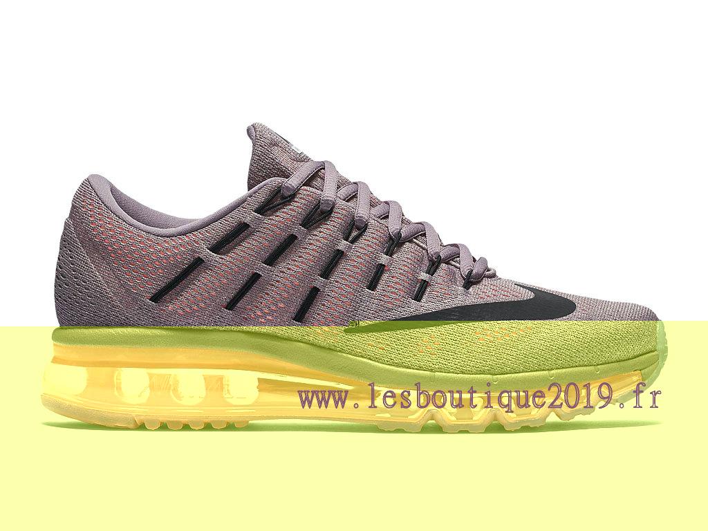 Nike Air Max 2016 Bleu Vert Chaussures de BasketBall Pas