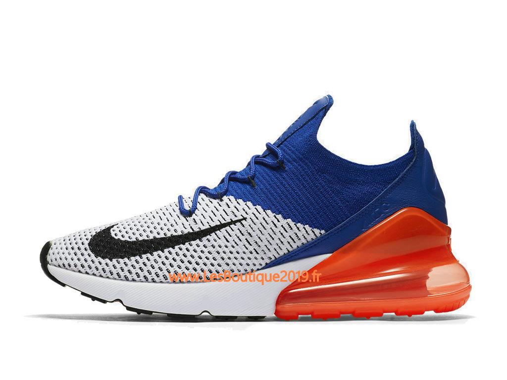 air max 270 bleu orange