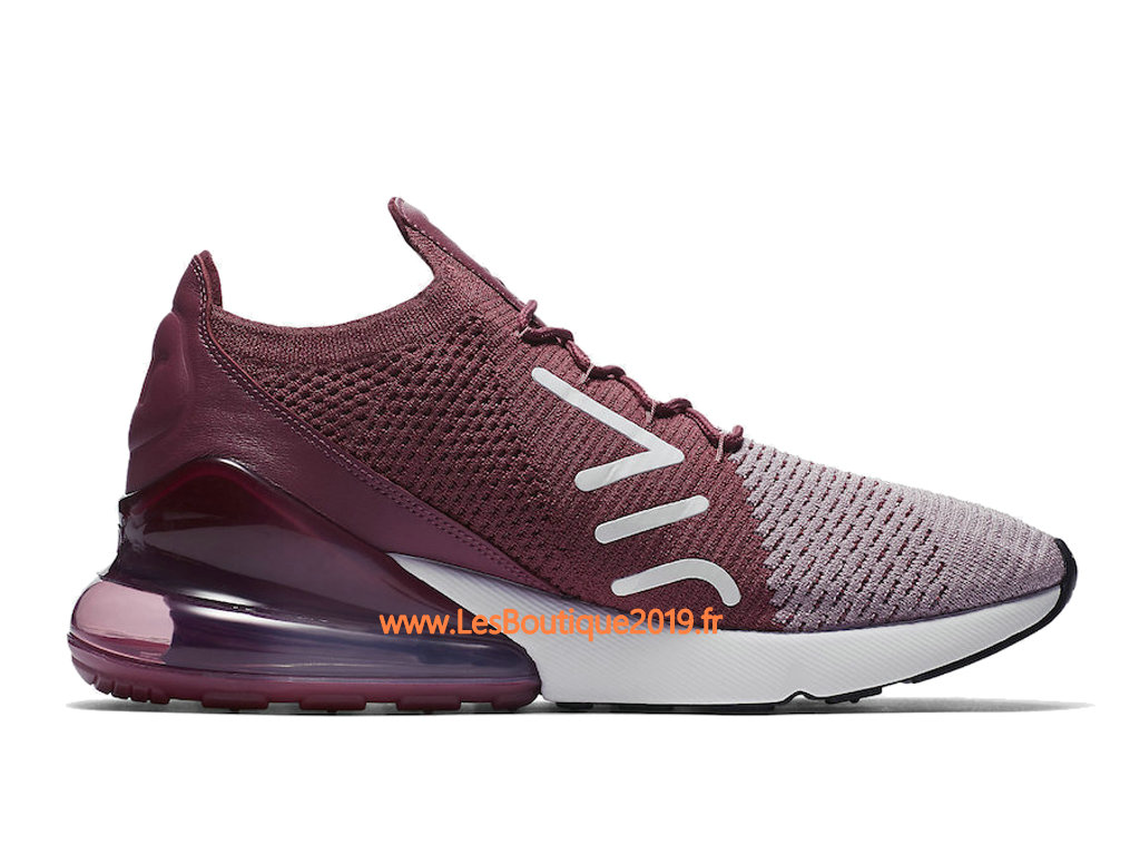 Nike Air Max 270 Flyknit Rose Gris Chaussure de Running Pas Cher Pour Homme AO1023 500 1807090033 Achetez de Chaussure de Baskets ! Nike en ligne!