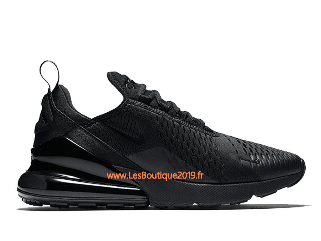 Nike Air Max 270 Blanc Noir Chaussure Officiel Prix Pas Cher
