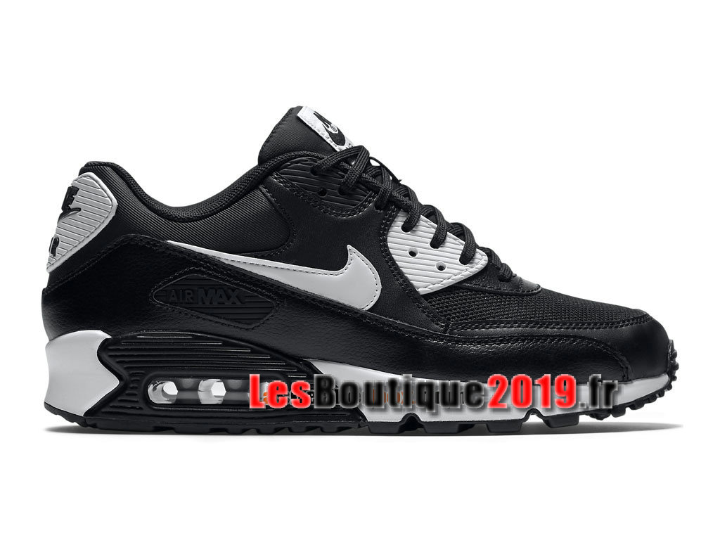 Nike Air Max 90 Essential GS Noir Or Chaussures Nike