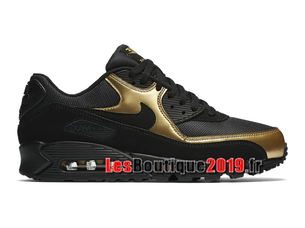 Nike Air Max 90 Essential GS Black Gold Women´s/Kids´s Nike Sportswear Shoes 537384-058G - 1808170435 - Buy Sneaker Shoes! Nike online!