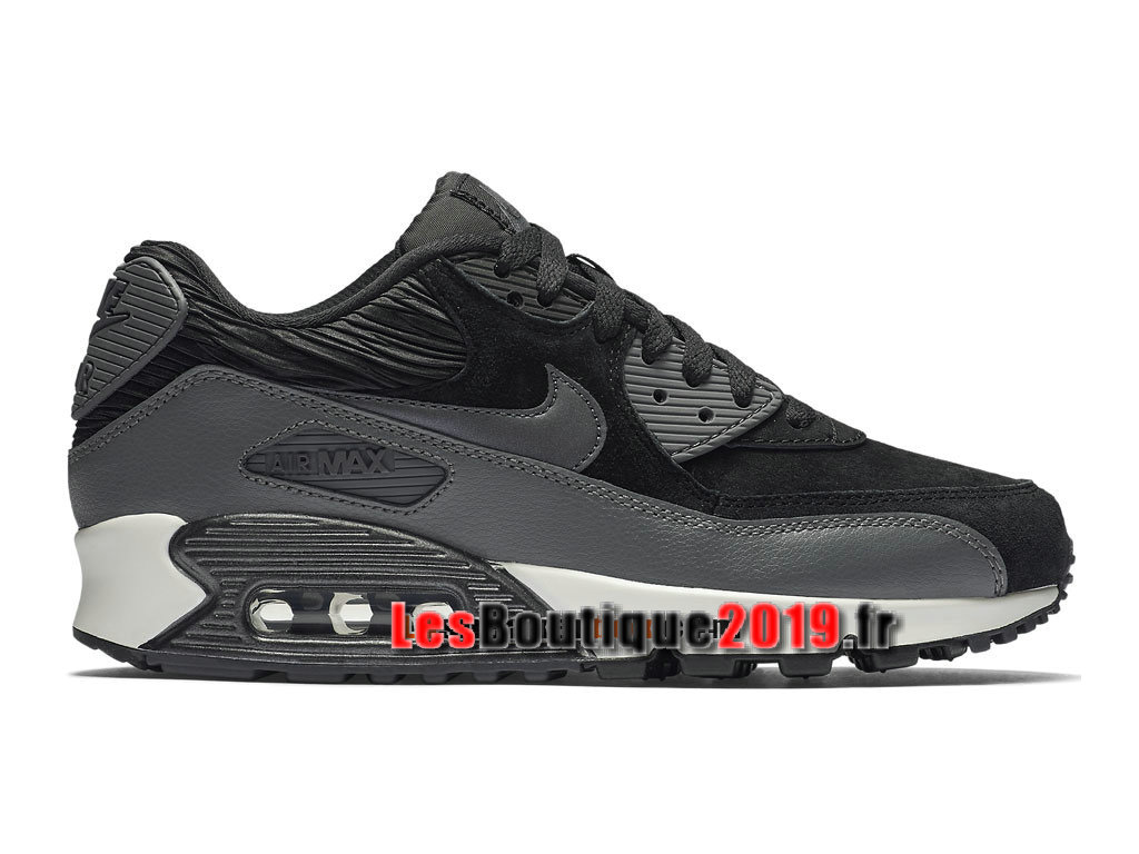 Nike Air Max 90 Leather (LTR) Men´s Nike Prix Shoes Black Gery 768887-001H  - 1808210540 - Buy Sneaker Shoes! Nike online!