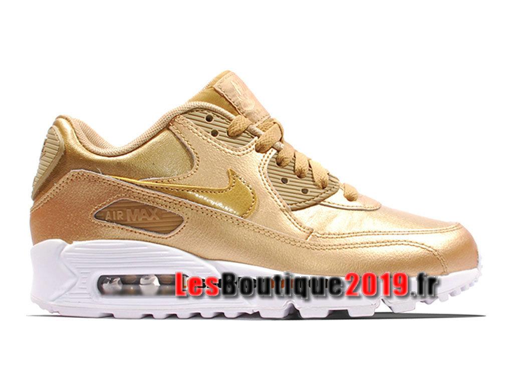 meilleure sélection c57f8 0ee4e Nike Wmns Air Max 90 Leather/LTR Brun Women´s/Kids´s Nike ...