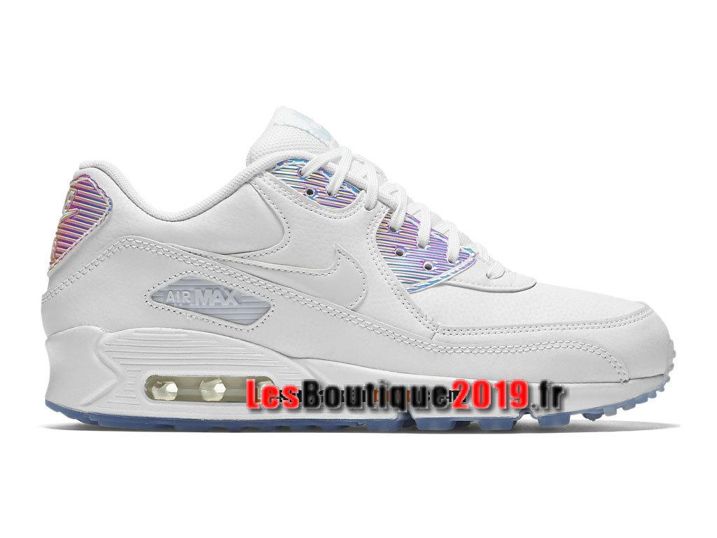 great deals aliexpress 100% high quality Nike Air Max 90 Premium Men´s Nike Prix Shoes White 443817-104H ...