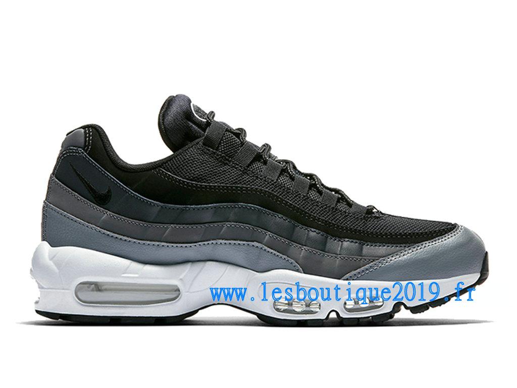 nouveau style d31be 4e3d1 Nike Air Max 95 Essential Noir Blanc Chaussures Nike Sportswear Pas Cher  Pour Homme 749766-021 - 1808110300 - Achetez de Chaussure de Baskets ! Nike  ...