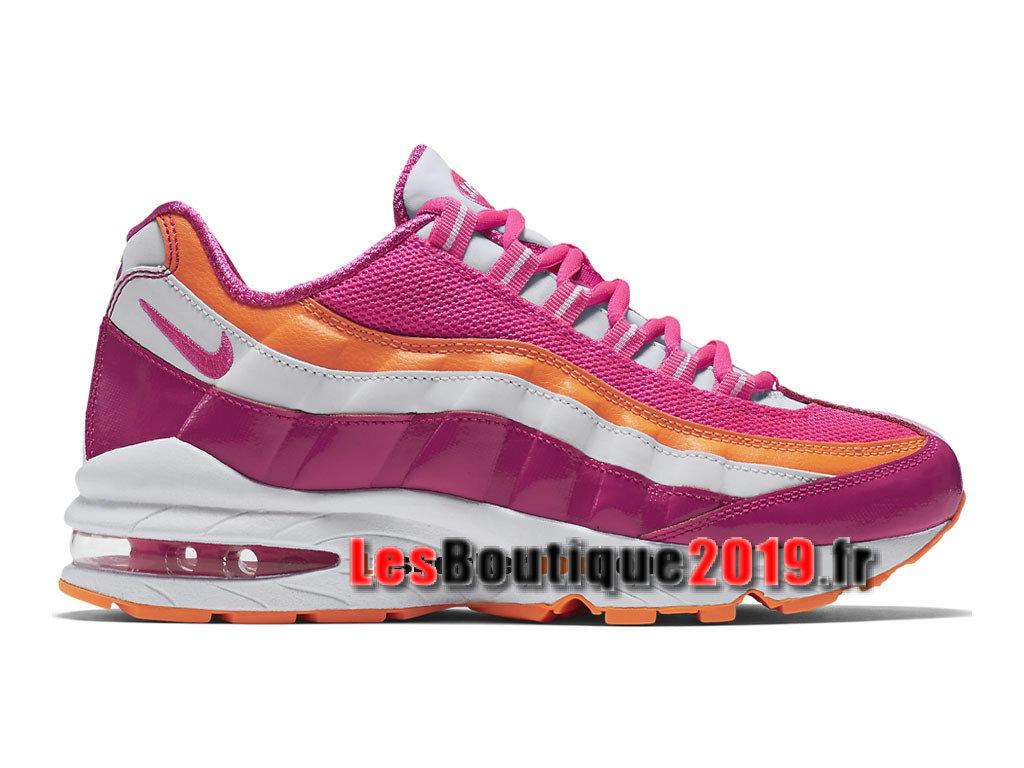 Nike Air Max ´95 LE (GS) Chaussures Nike Running Pas Cher Pour Femme/Enfant  Rose Blanc 310830-603 - 1808250565 - Achetez de Chaussure de Baskets ! ...