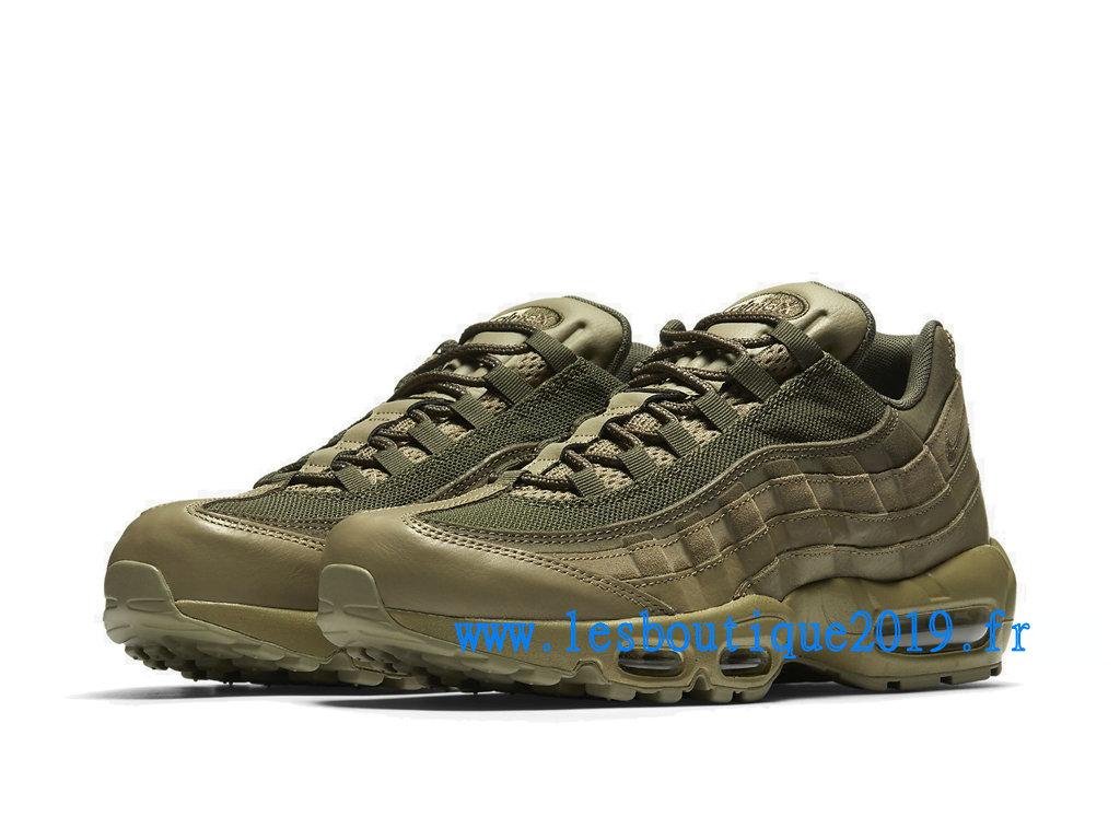 Nike Air Max 95 Premium Vert Chaussures Nike Sportswear Pas Cher Pour Homme 538416 201 1808110296 Achetez de Chaussure de Baskets ! Nike en ligne!