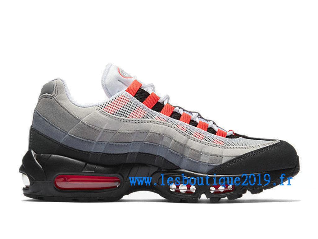 Nike Air Max 95 White Black Men´s Nike Sports Shoes 609048