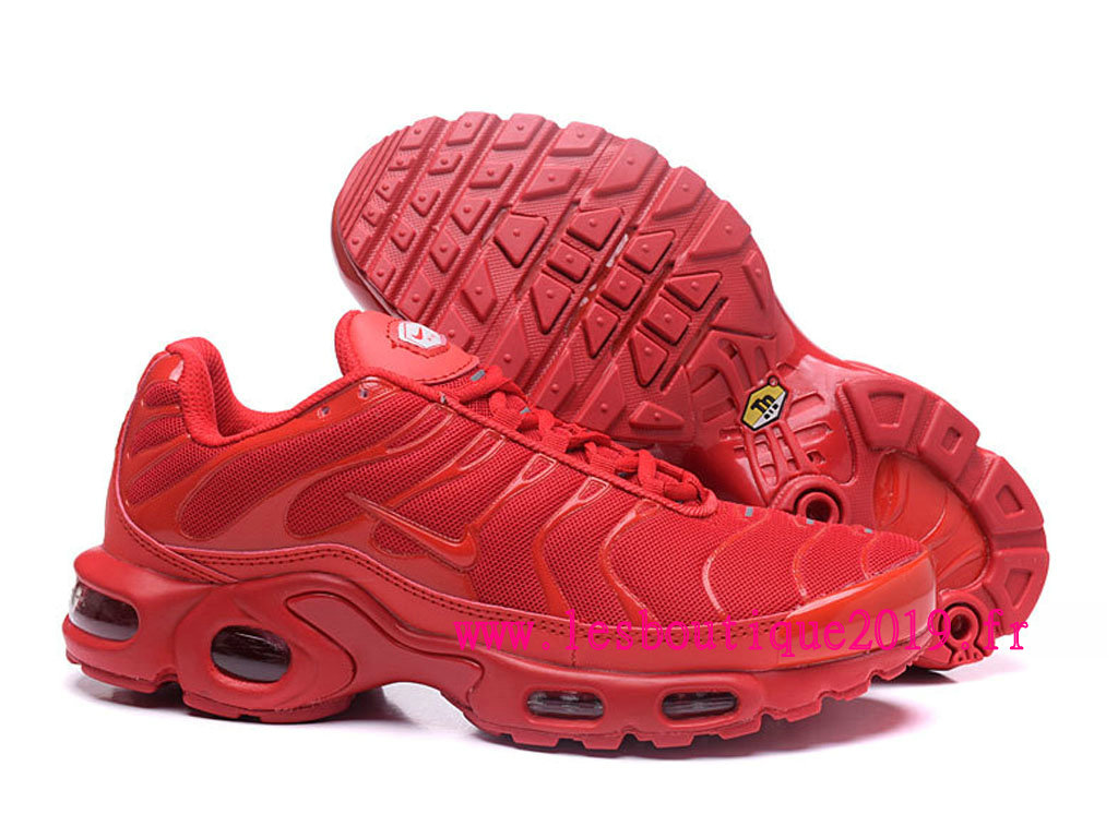 nike air max plus homme rouge