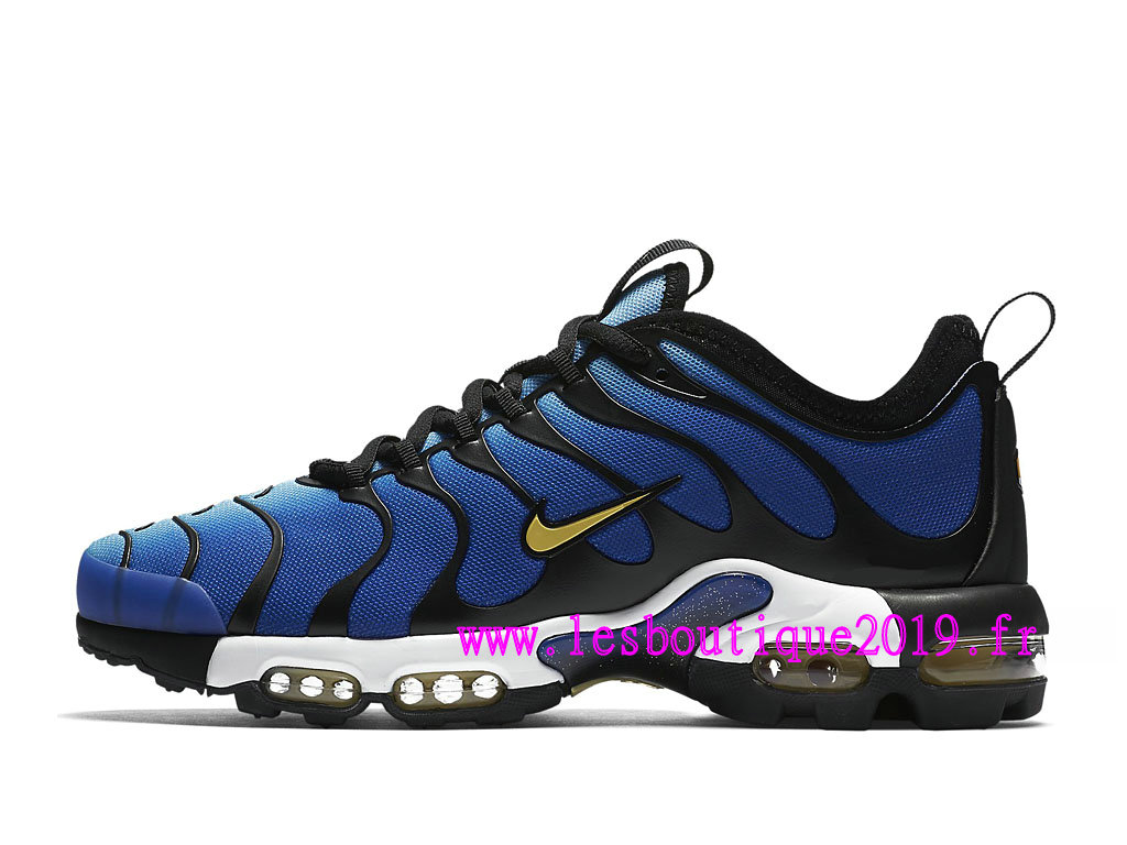 outlet online 50% price outlet on sale Nike Air Max Plus Ultra Bleu Blanc Chaussures de BasketBall Pas ...
