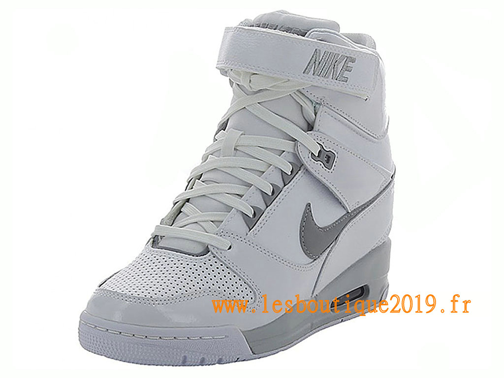 great deals 2017 presenting buy sale Nike Air Revolution Sky Hi GS Women´s Nike BasketBall Shoes White ...