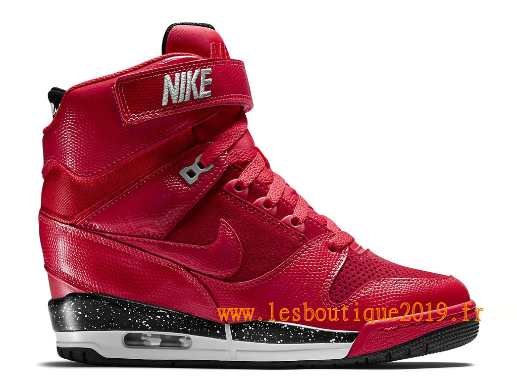 Nike Air Revolution Sky Hi GS Women´s Nike BasketBall Shoes Red Black  599410_600 - 1810210953 - Buy Sneaker Shoes! Nike online!