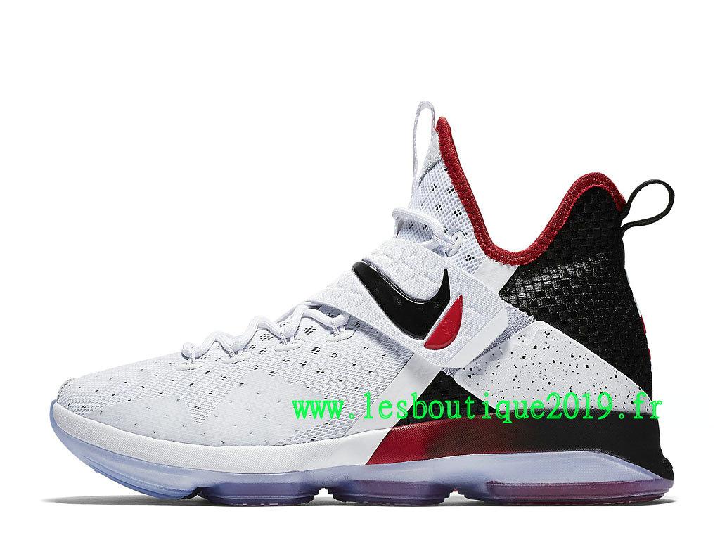 Nike LeBron 14 Flip the Switch Blanc Noir Chaussure de BasketBall Pas Cher Pour Homme 921084 103 1808030245 Achetez de Chaussure de Baskets ! Nike
