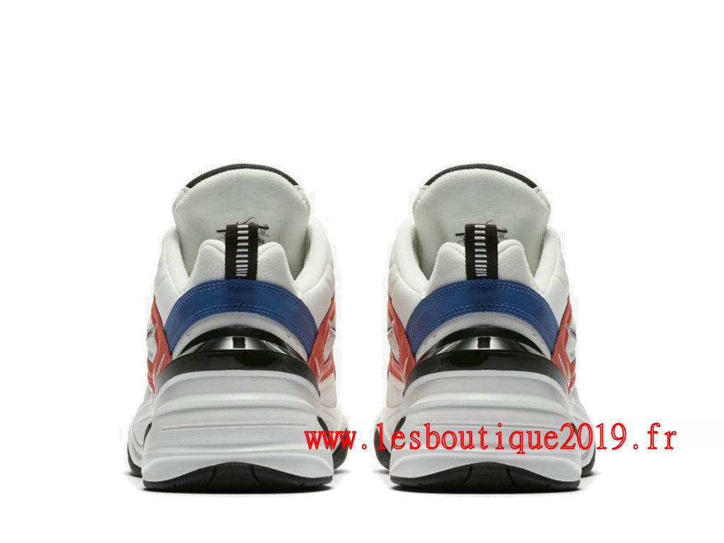 Nike M2K Tekno Blanc Bleu Chaussures Nike Running Pas Cher Pour Homme AV4789 100 1810140920 Achetez de Chaussure de Baskets ! Nike en ligne!