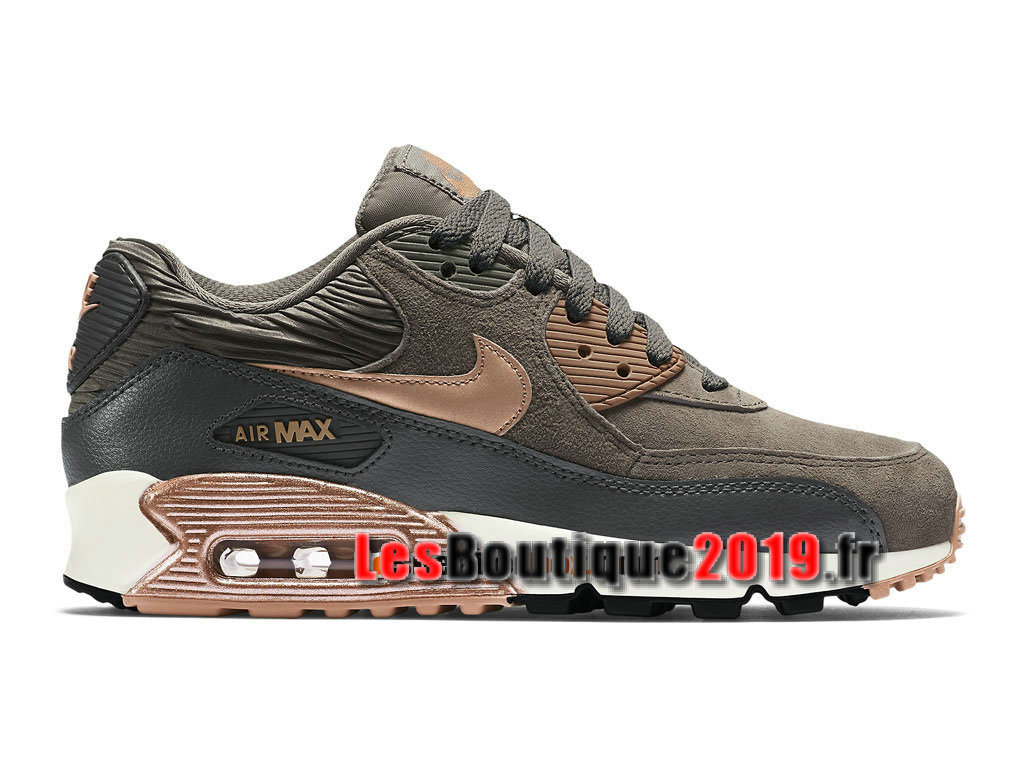 usine authentique f6af4 5adbd Nike Wmns Air Max 90 Leather/LTR Brun Women´s/Kids´s Nike BasketBall Shoes  768887-201 - 1808170417 - Buy Sneaker Shoes! Nike online!