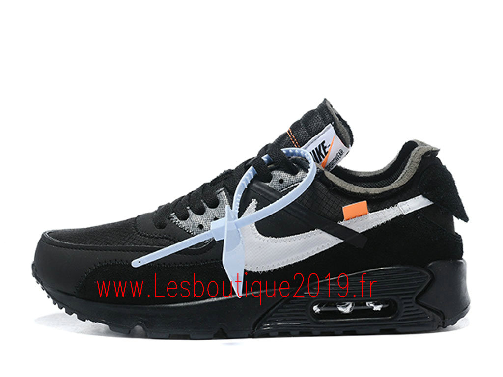 San Francisco c9035 2e639 Off-White x Nike Air Max 90 Black Cone Men´s Nike Pas Cher Shoes AA7293-001  - 1901041216 - Buy Sneaker Shoes! Nike online!