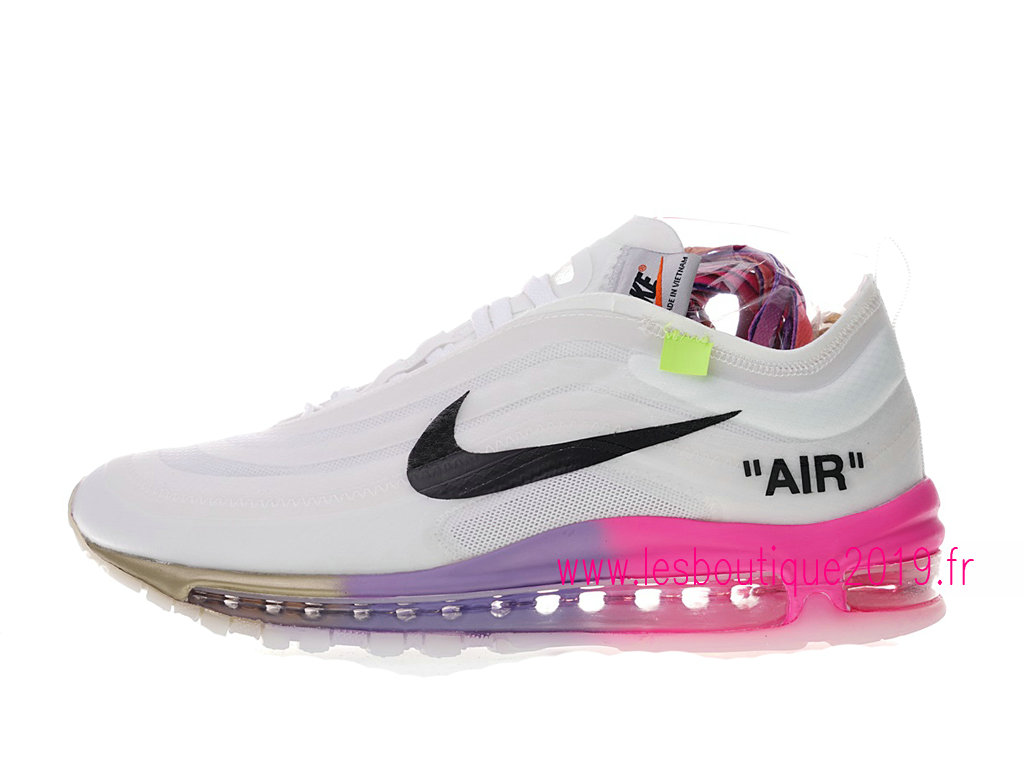 new style good texture best online Off-White x Nike Air Max 97 GS White Black Women´s Nike Running ...